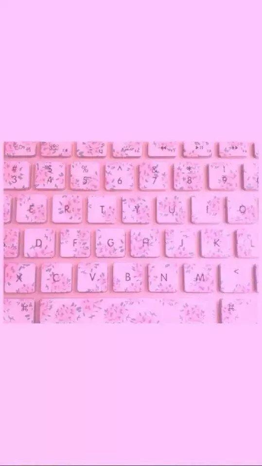 粉粉的少女心QQ卡通皮肤图片