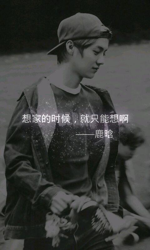 好看的帅气鹿晗QQ皮肤男生图片