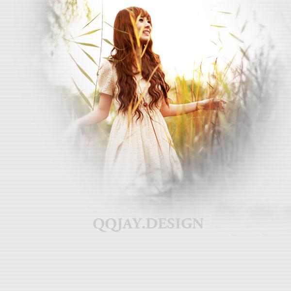 天那么蓝 愿你我能随遇而安 唯美女生QQ皮肤大图