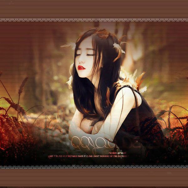 心酸伤感的女生QQ皮肤图片