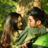 森系微信情侣头像一对两张