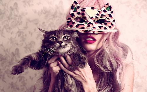 欧美范与小宠物