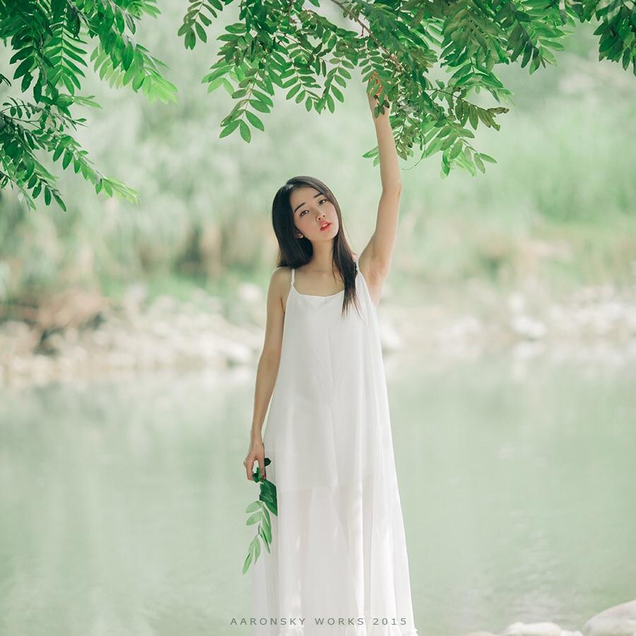 小清新清纯女写真
